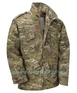 M65 US FIELD JACKET QUILT LINER VINTAGE MILITARY ARMY COMBAT COAT MULTI ... - $58.56