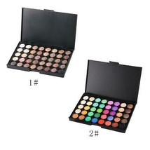 40 Colors Professional Women Facial Makeup Tools Long Lasting Luminous E... - $6.99