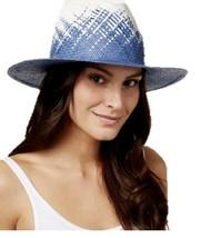 Calvin Klein Weave Panama Hat (Blue/Beige) - $29.90