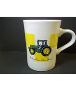John Deere tractor ceramic coffee mug Gibson 10 oz - $6.31