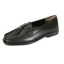 PEERAGE Sonya Wide Width Moccasin Design Comfort Leather Loafers - $34.95