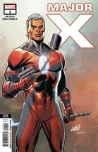 MAJOR X #1 (OF 6) 2ND PTG LIEFELD VAR marvel   rel date 05/01/2019 stock... - $4.99