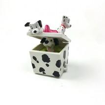Disney 101 Dalmatians Gift Box Wheeled McDonalds Happy Meal Toy Vintage ... - $12.19