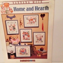 Dimensions cross-stitch guide Home and Hearth designed by Barbara Mock good used - $4.95