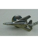 Vintage Adson Airplane Tie Tack and Chain Rare - $25.81