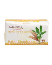 PATANJALI HALDI CHANDAN KANTI BODY CLEANSER SOAP BAR- 75gm - $9.99+