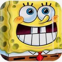"8 Pk Sponge-Bob Birthday Party Plates Luncheon Birthday Theme Parties 9"" - $6.92"