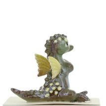 Hagen Renaker Miniature Dragon Baby Green Ceramic Figurine image 9