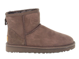 Ankle boot UGG Australia 6222 C in chocolate suede leather - Women's Shoes - €155,64 EUR