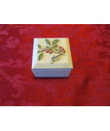Ibis and Orchid Vintage Tea Light Holder Trinket Box - $5.99