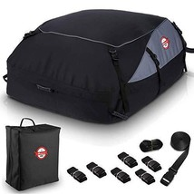 Car Roof Bag Cargo Carrier, 20 Cubic Feet Waterproof Topper Luggage Bag Vehicle