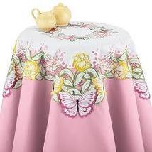Butterfly & Tulip Garden Table Linens - $15.36