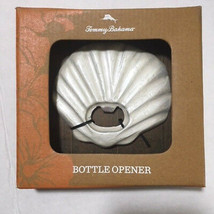 Tommy Bahama Bottle Opener Shell Pearl White Beach Summer Theme NIB - $10.88