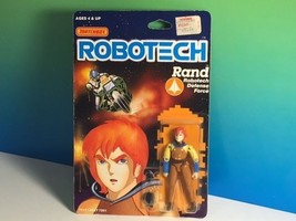 1985 MATCHBOX ROBOTECH ACTION FIGURE MOC ANIME MECHA RAND DEFENSE FORCE ... - $38.36