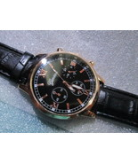 Business Watch For Men PU Leather Band Analog Alloy Quartz Wrist Watches - $12.50