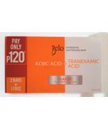 3 BELO KOJIC ACID+TRANEXAMIC WHITENING SOAP CLASSIC 65g x 3  Sealed Exp.... - $22.72