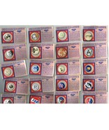 LOT OF 35 Presidential Campaign Political Pinbacks REPRODUCTION 1896-1968 - $14.99