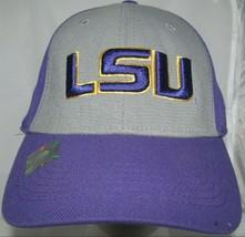 LSU Tigers Baseball Cap Purple Yellow One Fit One Size Fits Many Louisiana State - $15.79