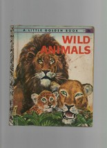 Wild Animals - Feodor Rojankovsky  - HC -  1960 - Little Golden Book. - $2.69