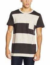 Vans Beecher Tee Camiseta Superior Hombre S Off The Wall Gris Marrón Speck Rayas - $25.78