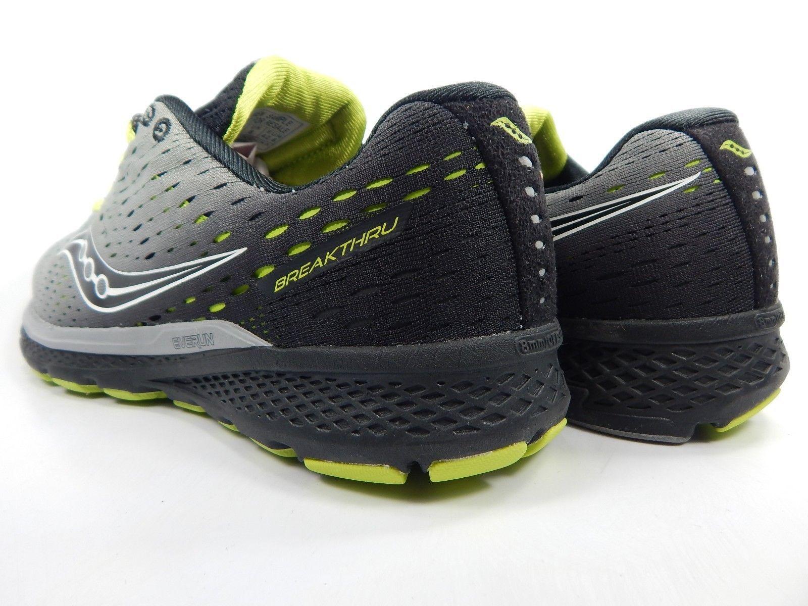 Saucony Breakthru 3 Men's Running Shoes Size US 9 M (D) EU 42.5 Grey S20358-2