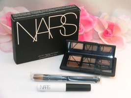 New NARS Eye Shadow Kit # 9971 6 Shades Pro Prime & Brush And God Create... - $42.31