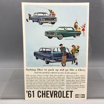 Vintage Rivista Ad Stampa Design Pubblicità Chevrolet Automobili - $29.49