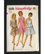 """Vintage '60's Simplicity Dress Pattern Uncut Size 12 Bust 32"""" - $11.99"""