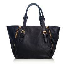 Vintage Burberry Black Others Leather Small Maidstone Tote Bag China - $528.39