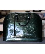 100% Authentic Louis Vuitton Vernis Alma Monogram MM Handbag  - $999.00
