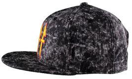 Neff Headwear Black Leopard Neff Rock Logo Snapback Baseball Hat Cap F13018 NWT image 5