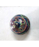 BEAUTIFUL PAPERMACH JEWELLERY/TRINKET/COIN BOX HANDMADE HANDCRAFTED, GIFT - $20.53