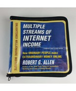 Multiple Streams of Internet Income 8 CD Disc Audios Zipper Case Robert ... - $12.99