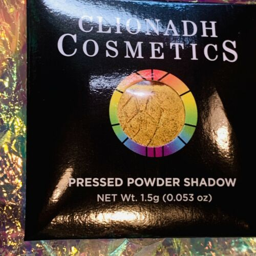 NWT NIB Clionadh Cosmetics JEWELLED MULTICHROME SINGLE PAN *ONE SHADE* BURNISH