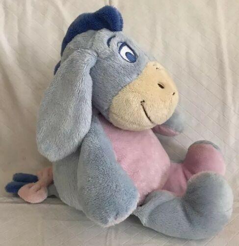 "KIDS PREFERRED Stuffed Plush EEYORE Crinkle Ears Rattle 12"" Disney Baby Toy image 2"