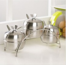 7Pcs Set Kitchen Supplies Apple Shape Spice Con... - $44.06
