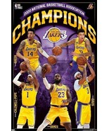 2020 LOS ANGELES LAKERS CHAMPIONSHIP POSTER BRAND NEW - $11.59