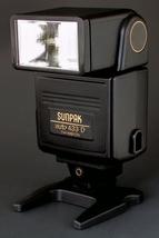 Canon FD & EOS Sunpak Auto 433 D Thyristor Flash AE-1 A-1 AE-1P T70 T90 ... - $16.00
