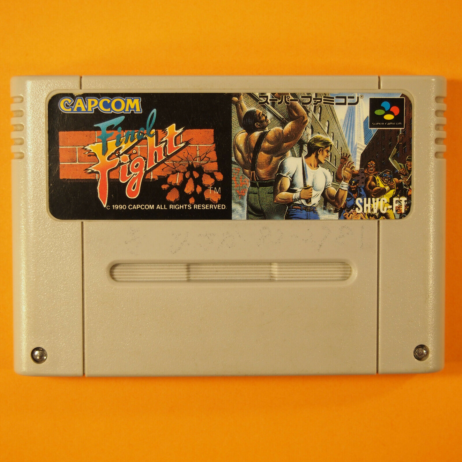 Final Fight (Nintendo Super Famicom SNES SFC, 1990) Japan Import image 1