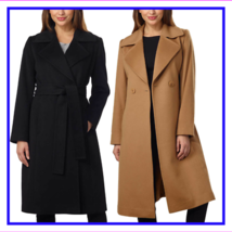George Simonton Couture Ladies' Belted Wrap Coat - $196.80