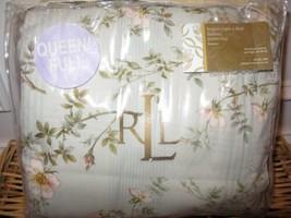 Ralph Lauren Inverness Floral King Bedskirt New - $48.45