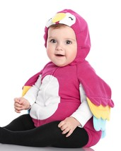 NEW NWT Carters Parrot Halloween Costume 3/6 or 6/9 Months 3 Piece Fleec... - $28.99