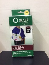 CURAD Pediatric Print Curad Arm Sling Child OPEN *Missing Pad - $8.54