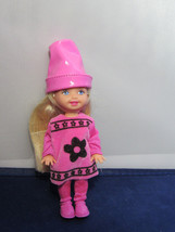 Crayola Crayon Color Kelly Doll Pink Collector Barbie Sister Walmart DEB... - $10.00
