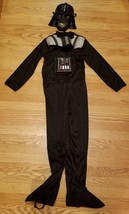 Darth Vader Costume & Mask Child Boys Medium M Med 8-10 Star Wars Rubies... - $12.55