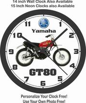1979 YAMAHA GT80 MOTORCYCLE WALL CLOCK-FREE USA SHIP-SUZUKI-KAWASAKI - $28.70+