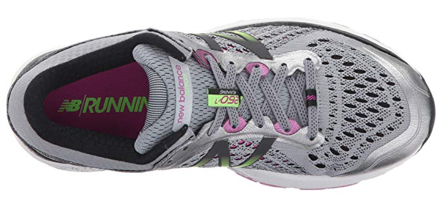 New Balance 1260 v7 Sz 6.5 M (B) EU 37 Women's Running Shoes Gray Lime W1260GP7