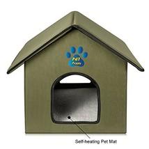 Outdoor/Indoor Cat House by Pet Peppy - $38.98