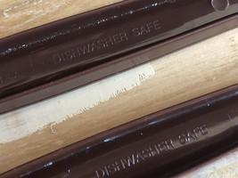 EKCO Vintage Brown Nylon Slotted Spoon & Serving Fork image 5