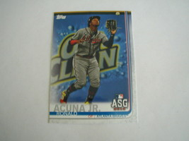 2019 TOPPS UPDATE RONALD ACUNA JR CARD #US220 ALL STAR GAME ATLANTA BRAVES - $2.94